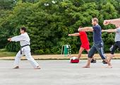 Karate bei den Queerspielen 2014