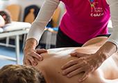 Massage bei den Queerspielen