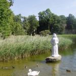 Wutzsee: Skulptur 'Schönen Nonne'
